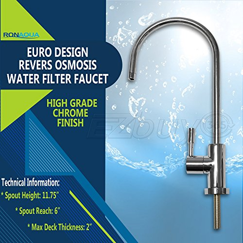 Ronaqua Water Filter Purifier Faucet European Style Polished - Of Benefits Cold Water