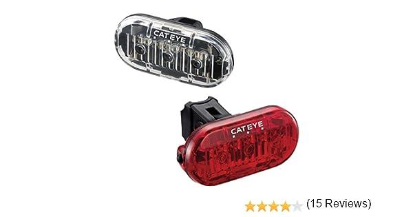 CatEye Omni 3 F/R Set TL-LD135 Ciclismo Luces y reflectores – Negro: CatEye: Amazon.es: Deportes y aire libre