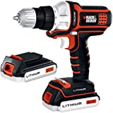 Black & Decker BDCDMT120-2 20-Volt MAX Lithium-Ion Matrix Drill with 2 Batteries