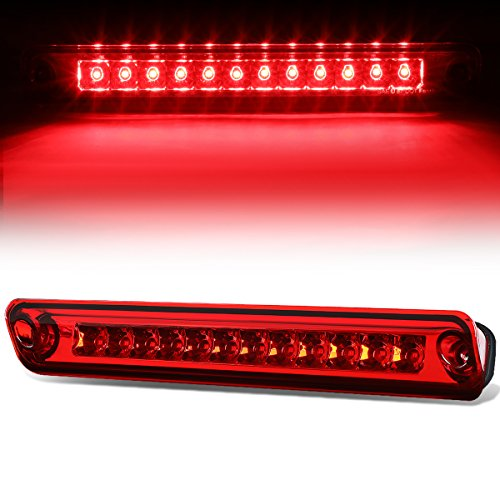 For Isuzu Rodeo / UCS69GW LED High Mount Rear 3rd Third Tail Brake Light (Red Lens)