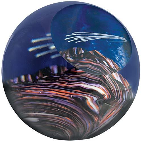 Glass Eye Studio Celestial Meteor Shower Paperweight 477F