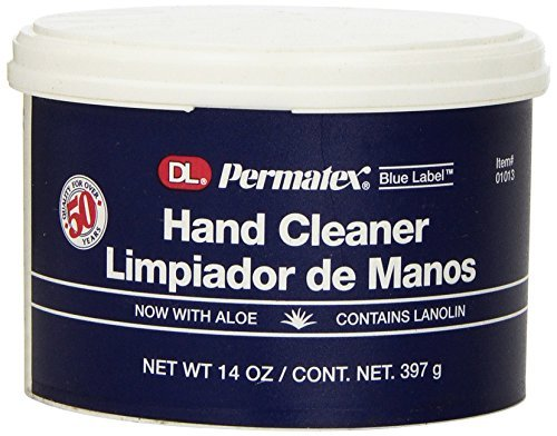 Permatex 01013 DL Blue Label Cream Hand Cleaner, 14 oz. Size: 14 Ounce, Model: 1013, Outdoor&Repair - Cream Label Dl Blue