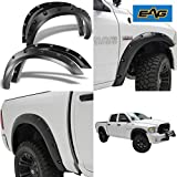 EAG E-Autogrilles 20291 Black Fender Flare (Pocket Rivet Style Front + Rear for