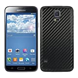 kwmobile Carbon look battery back cover for the Samsung Galaxy S5 / S5 Neo / S5 LTE+ / S5 Duos in black colour – complements the design of your Samsung Galaxy S5 / S5 Neo / S5 LTE+ / S5 Duos
