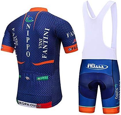 ADKE Hombre Camisetas de Ciclismo para Verano, Maillot Manga Corta de Bicicleta, y Culotte Ciclismo Transpirable, Secado Rápido: Amazon.es: Deportes y aire libre