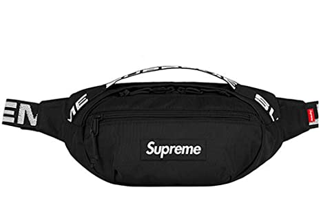 Image Unavailable. Image not available for. Colour  SUPFDC Fanny Pack Supreme  Bag Supreme Shoulder Bag SS18 (Black) cb1b958e4c1c4
