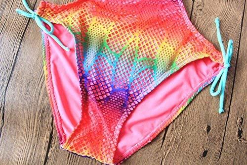 Taille Les S swimming Bague Acier Maillot Femmes Filet Pêche En Bikini Fuweiencore De Suit Bikini coloré Et Bain S Pour 7qxHU