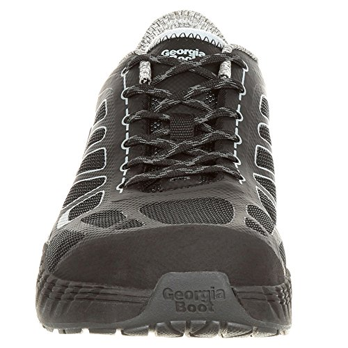 Reflx Georgia Work Alloy Athletic Women's Shoe Toe Black GB00233 wSqHtSEn7