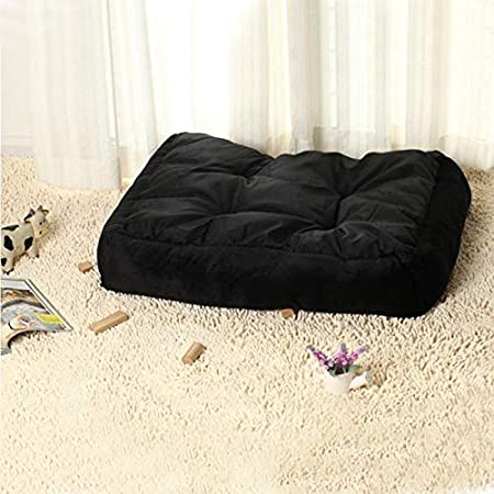 Amazon.com : Dunnomart Naturelife Pet Dog Bed Soft Material Pet Dog Fall Winter Warm Nest Kennel Cat Warming Dog House Puppy Plus Size : Dunnomart : Pet ...