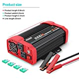 NDDI 1000W Car Power Inverter 12V DC to 110V AC