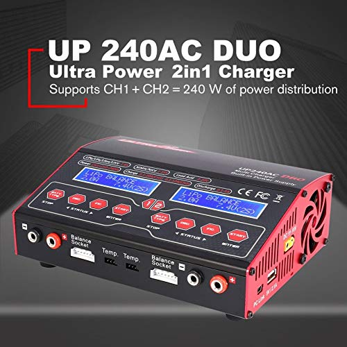 Wikiwand Ultra Power UP 240 AC Duo 2in1 240W Battery RC Balance Charger Discharger