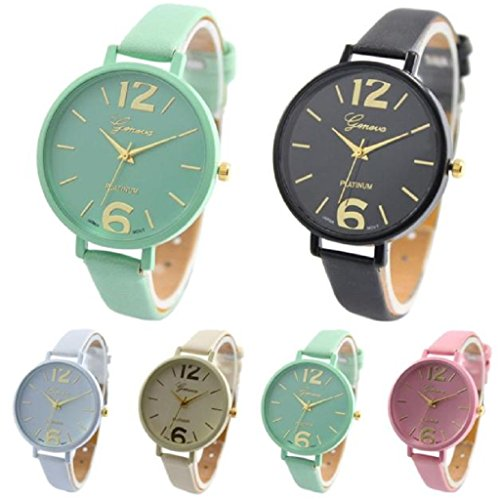 5 pack Wholesale Women Leather Watches,SINMA Casual Elegangt Wristwatch Analog Quartz Wrist Watch (Difference Between Analog Electronics And Digital Electronics)
