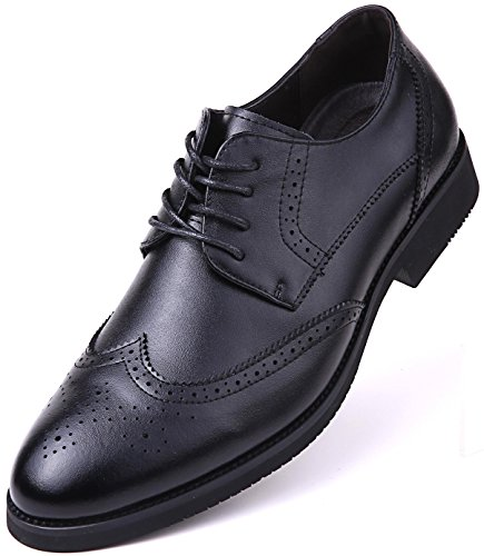 Dressports Wingtip Shoes, Black - Wingtip, 9.5 D(M) US,Black - - Wingtip Black