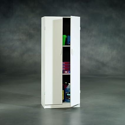 Sauder Beginnings Storage Cabinet Soft, 23 Inch, White