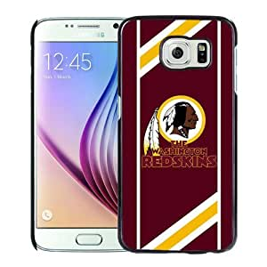 Beautiful Samsung Galaxy S6 Case ,Unique And Lovely Designed With Washington Redskins 08 Samsung Galaxy S6 Phone Case