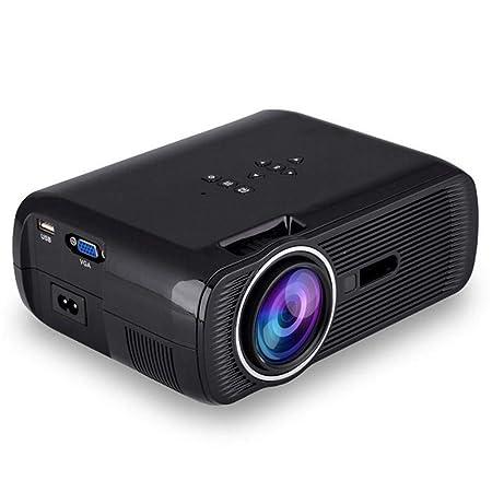 WZHESS Mini proyector LCD portátil, 800Lms800x480p con ...