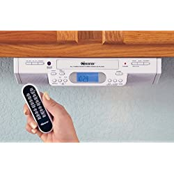 Memorex® Under Cabinet Mount AM / FM / Clock Radio / CD Player