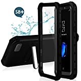 Feagar Samsung S8+ Plus Waterproof Case | Underwater Full Body Snow-Proof Shock-Proof Dirt-Proof Hard Cover for Samsung Galaxy S8+ (6.2'') |Touch ID Available | Access to All Functions (Turquoise)
