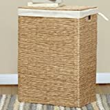 Lamont Limited Kianna Family Laundry Hamper, Natural