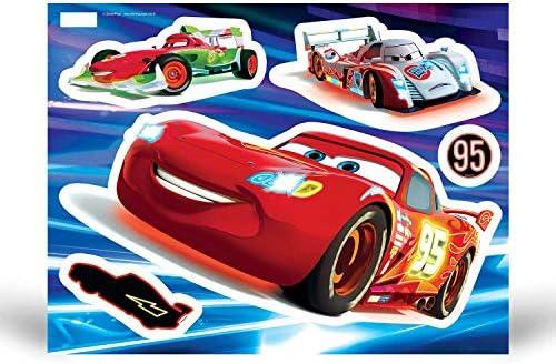 Fosforlu Arabalar Simsek Mcqueen Cars Sticker Cikartma 29 Cm