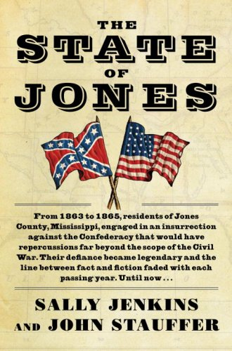 The State of Jones: The Small Southern County That Seceded from the Confederacy (Mississippi State Map With Cities And Counties)