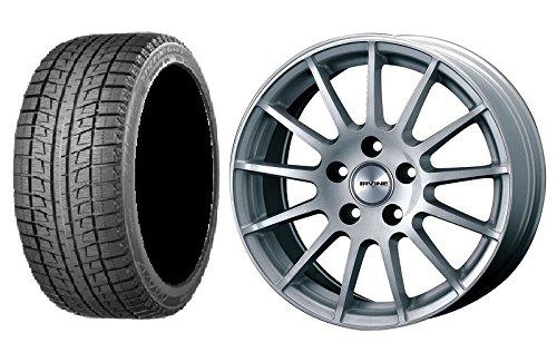 【輸入車 BMW X1(F48)】 スタッドレスタイヤホイール 1本セット 17インチ BRIDGESTONE(ブリヂストン) ブリザックRFT 225/55R17 97Q + アーヴィンF01 HSL(シルバー) B076P9BD5K