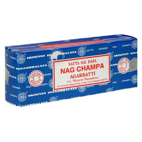 SAI BABA Nag Champa Incense 250 grams (pack of 2) - incensecentral.us