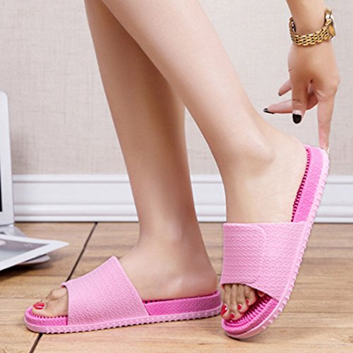 Bathroom Light Household Pink FREAHAP Slippers Sandal Shoes Unisex R Massage Shower Spa pink YPCwAYq