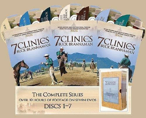 7 Clinics with Buck Brannaman: Complete Set 1-7 by Cedar Creek Productions