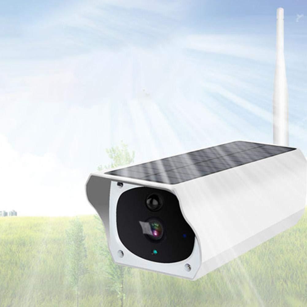Monitoraggio WiFi Remoto Senza Fili Telecamera di Rete con Ricarica Solare Telecamera di Sorveglianza//Sicurezza Esterna Impermeabile con Funzione di Nearby aheadad Telecamera per Esterni 1080P