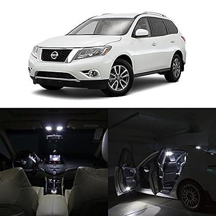 Amazon Partsam 14pcs White 2013 2015 Nissan Pathfinder Led