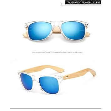 Taiyangcheng Gafas de Sol de bambú para Hombres Gafas de Sol ...