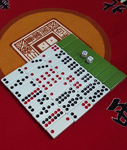 Chinese Pai Gow Paigow Tiles Game Casino Fun #20 Green