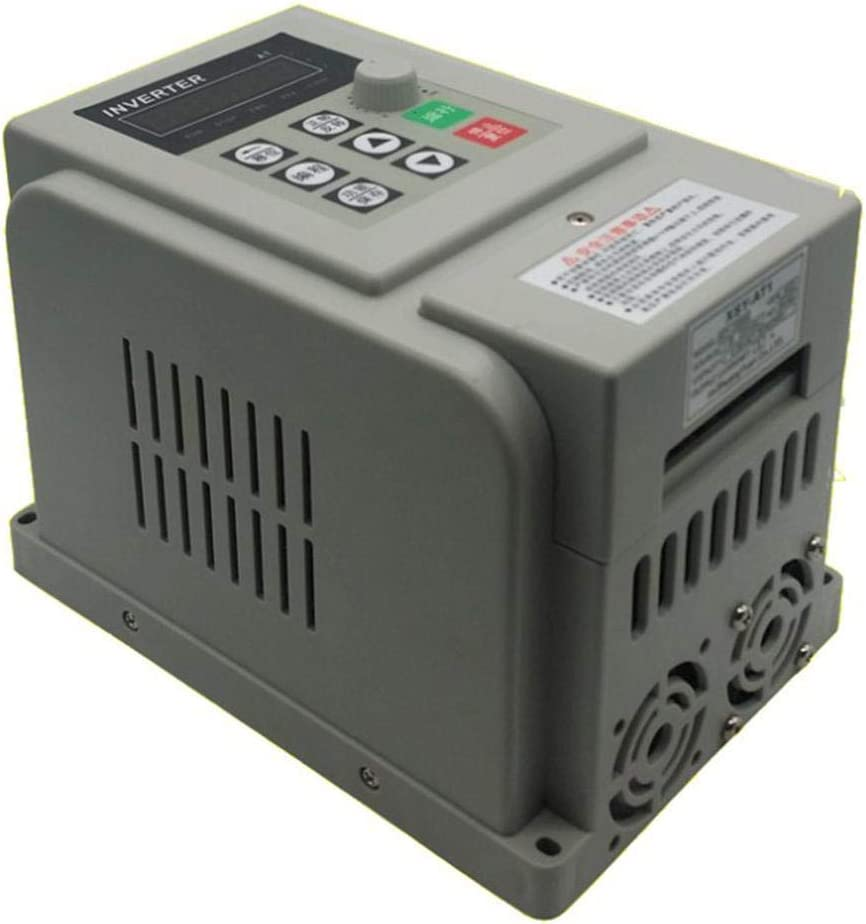 Variable Frequency Drive AC 220V 1.5KW Variable Frequency Drive VFD Speed Controller for 3-Phase Motor