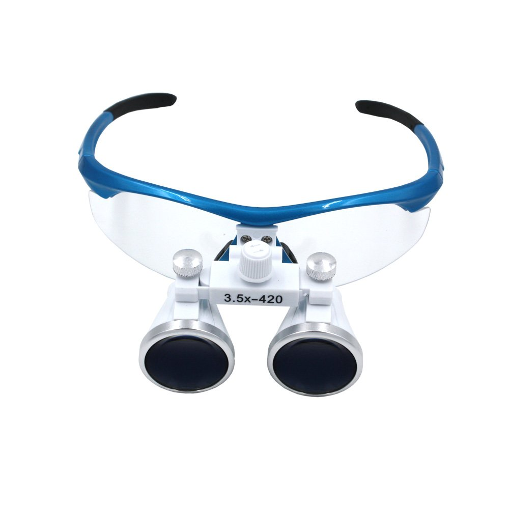 3.5X Magnifying glass Dental Loupes 320-420MM working distance