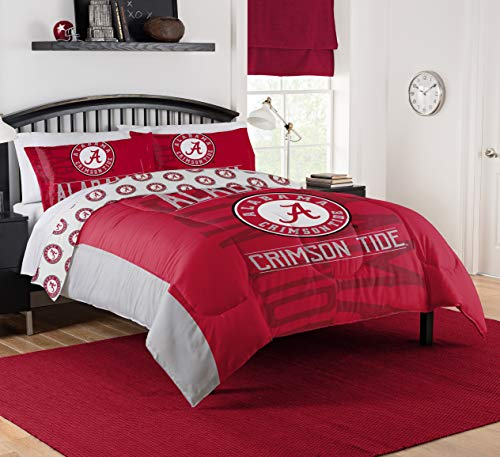 The Northwest Company NCAA Alabama Crimson Tide Affiliation Full/Queen Comforter Set #536234372
