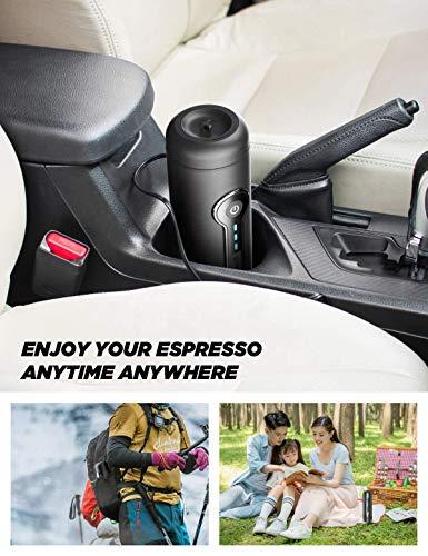 51BphV61k9L CONQUECO Tragbare Espressomaschine reise Siebtraeger Automatische Kaffeekapselmaschine Ein-Knopf-Bedienung BPA-frei für…