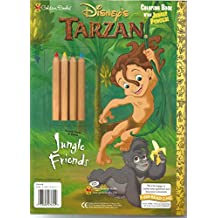 Jungle Friends With Pens Pencils Disneys Tarzan