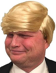 Hilarious Donald Trump Wig (Yellow-Blonde)