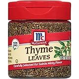 McCormick Thyme Leaves, 0.37 oz