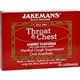 2Pack! Jakemans Throat and Chest Lozenges - Cherry - Case of 24 - 24 Pack