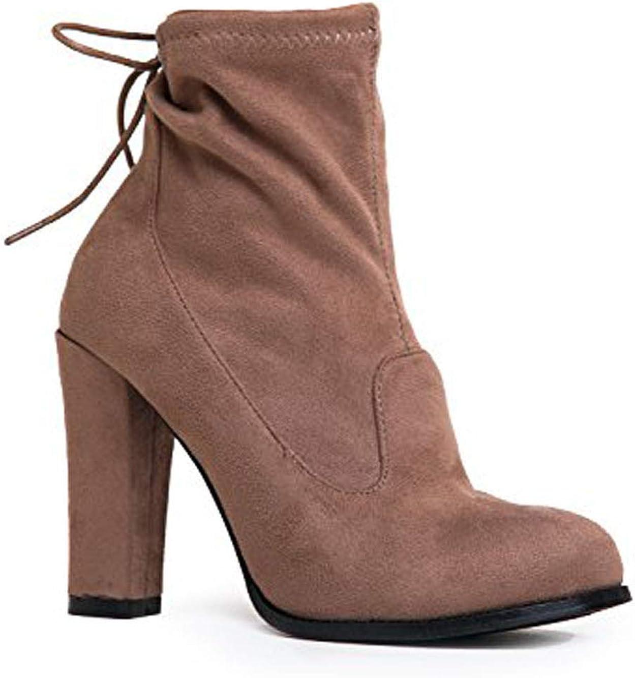 J. Adams High Heel Slip On Ankle Boot