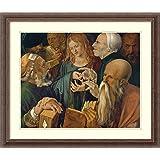 Framed Art Print 'Christ Among Doctors, 1506' by Albrecht Durer