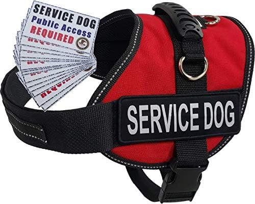 Activedogs Service Dog Air-Tech - Chaleco arnés + Tarjetas ADA ...