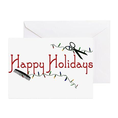 Amazon cafepress happy hairstylist holidays greeting card cafepress happy hairstylist holidays greeting card note card birthday card blank m4hsunfo