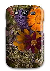 Anti-scratch And Shatterproof Flower Earth Nature Flower Phone Case For Galaxy S3/ High Quality Tpu Case