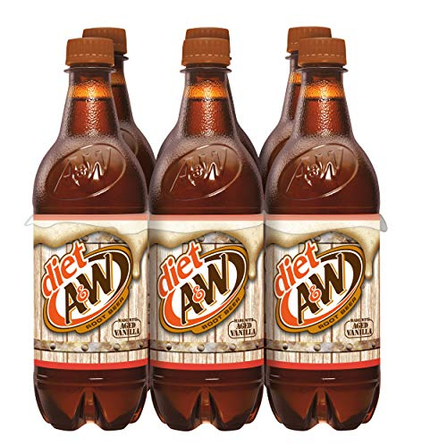 A&w Diet Root Beer, 16.9 Fl Oz, 6 Ct