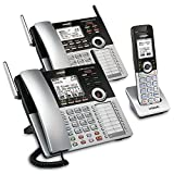 VTech 4-Line Small Business Phone System - Office Starter Bundle with  1 CM18445 Main Console, 1 CM18245 Deskset & 1 CM18045 Handset