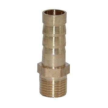 """19mm 1/"""" Messing Steckverbinder Schlauchverbinder Verbinder Schlauch Stecker"""