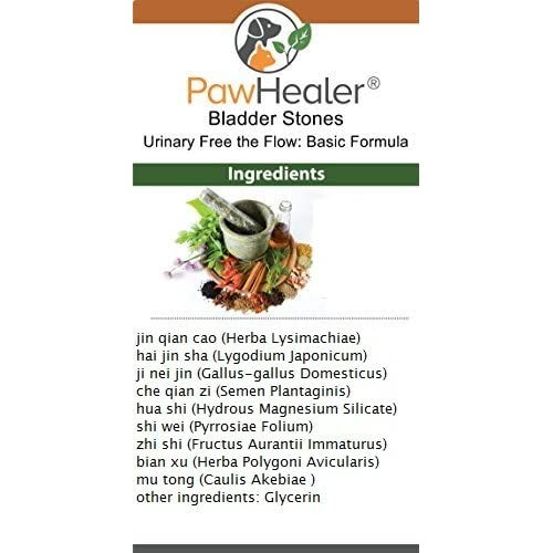 Bladder Stones/Crystals: Urinary Free the Flow: Basic Formula - Herbal Liquid Herbs for Cats - Buy More Save More 60%OFF